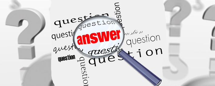 Answer question represents contact us Banner
