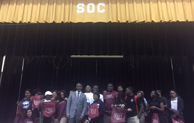 Texas Southern University Dallas High Schools Filled With Future Tigers